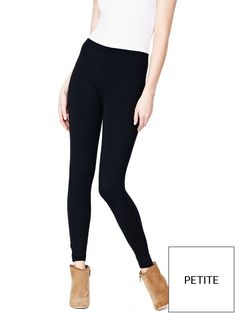 V by Very PETITE 2 PK COTTON/ELASTANE LEGGINGS South Two Pack Petite Fit Leggings Leggings are essential to your casual look and we love these South petite ankle length leggings for their versatile style. Designed especially for a petite frame these leggings promise a great fit that flatters.In a pack of two they're an excellent value buy and the fabric has a gentle stretch for a flattering fit. They are ideal for wearing with tunics, longline vests and printed dresses and will quick...