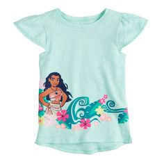 1c60b02792 Disney's Moana Toddler Girl Graphic Tee by Jumping Beans? Jumping Beans,  Disney Girls,