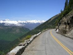 Glacier National Park's Going to the Sun Road.  THE biggest tourist attraction in the summer months. Must do.  Is it on your bucket list?