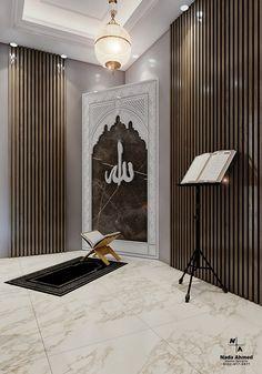Room Interior Design, Home Room Design, Dream Home Design, Prayer Corner, Islamic Decor, Home Building Design, Prayer Room, Living Room Modern, Decoration