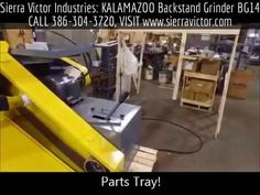 Available at Sierra Victor Industries: KALAMAZOO Backstand Grinder. Model BG14. For more information or to order, CALL 386-304-3720, VISIT http://sierravictor.com/index.php?dispatch=products.view&product_id=929