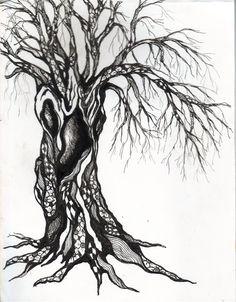 Cool Zentangle tree