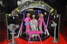 Omg how I loved Barbie & the rockers! I still have my cassette tape! 1980s Barbie, Vintage Barbie, Vintage Toys, Childhood Images, Childhood Memories 90s, 1980s Kids, Barbie Birthday, Barbie Friends, Ol Days