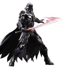 Play arts kai 10 inch #action figure batman #arkham #knight darth vader star wars,  View more on the LINK: http://www.zeppy.io/product/gb/2/122003205480/