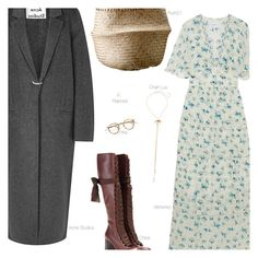 """""""If"""" by amberelb ❤ liked on Polyvore featuring Vilshenko, Chloé, Chan Luu, Acne Studios, Repossi, women's clothing, women's fashion, women, female and woman"""