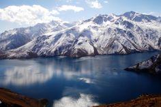 Shiwa lake from Kharjawin, Badakhshan, Afghanistan  by Romin Fararoon
