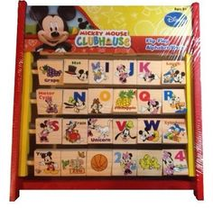 Disney Mickey Mouse Flip Flop Alphabet Blocks * You can find more details by visiting the image link.