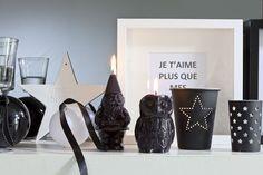 Bougies la Française - Bougies décoratives nain et chouette fabriquées à la main.