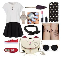 """""""Casual Date!! Happy saturday night"""" by classycii ❤ liked on Polyvore featuring Polo Ralph Lauren, Vans, Una-Home, NLY Accessories, Charlotte Russe and Olivia Burton"""