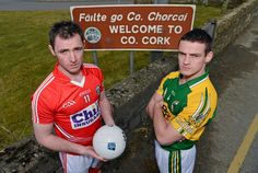 Big game this Sunday in the Allianz Football League with Cork GAA taking on old rivals Kerry GAA in Tralee with a 2 p.m. throw in. Get Sharing and Liking to show your support for the Rebels on Facebook! #CRW #Cork My Favorite Image, Big Game, Cork, Ireland, Irish, Nostalgia, Sunday, Football, Events