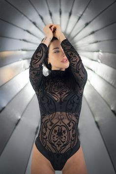 Bodysuit, Tops, Women, Fashion, Onesie, Moda, Fashion Styles, Fashion Illustrations, Leotards