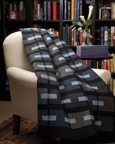 Hello manly-yet-interesting-and-cool quilt.