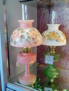 Vintage Aladdin Oil Lamps