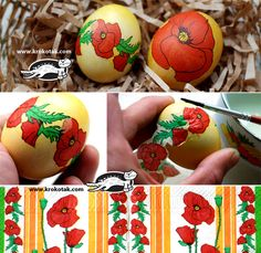 Love this idea of using serviettes to make really pretty Easter eggs. Must try next year!