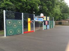 Multiactive unit at school in Buckinghamshire - installed 2013 Outdoor Learning Spaces, Playground Design, Outdoor Classroom, School Decorations, School Design, Rest, Backyard, The Unit, How To Plan