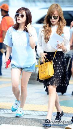 140807 Snsd Sunny & Tiffany