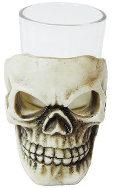 Most popular SKULL SHOT GLASS 3.5IN. Ultimate Selection of Skeleton & Skull Cups & Glasses for Halloween at CostumePub. Skull Shot Glass, Vampire Skull, Skeleton Face, Bar Scene, Detailed Tattoo, Scary Halloween Decorations, Halloween Costume Accessories, Skull Mask, Pirate Skull