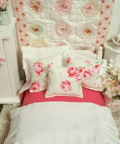 A personal favorite from my Etsy shop https://www.etsy.com/listing/289920421/miniature-full-size-bed-and-garden-chic