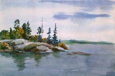 Zhamil Bikbaev » Watercolor