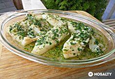 Fűszervajas grillezett hal