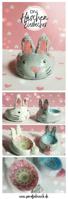 Oster DIY - sweet egg cups made of modeling clay ella mattsson In di . Oster DIY – sweet egg cups made of modeling clay ella mattsson In this Easter DIY I will show you Diy Gifts To Sell, Diy Gifts For Kids, Crafts To Sell, Easter Gift, Easter Crafts, Clay Crafts For Kids, Cute Egg, Pottery Store, Easter Traditions