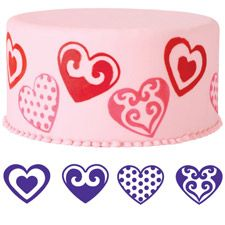 New Wilton Cake Stamps for fondant or sugar sheets