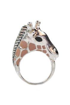Giraffe Ring. Want!