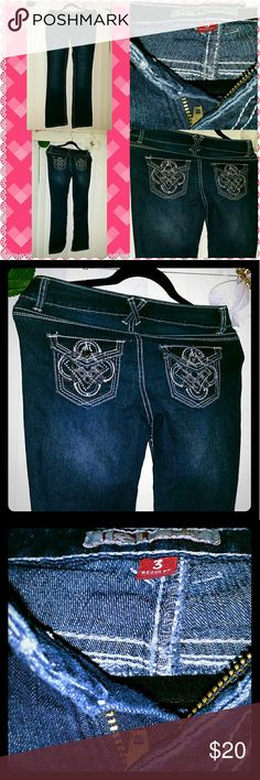 Jeans Size 3 worn once doesnt fit me anymore still new good condition no tear or rip. Jeans