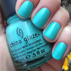 Today's color is: AQUADELIC by China Glaze