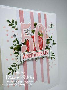 Number of Years ~ Stampin' Up!