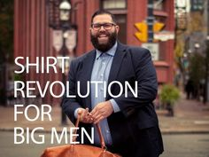 On a Mission to make the Perfect dress Shirt for Big gents Big And Tall Style, Mens Big And Tall, Big & Tall, Tall Men Fashion, Look Fashion, Mens Fashion, Guy Fashion, Big Boyz, Chubby Fashion