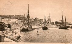 Inner Harbour Ramsgate, 1921