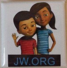 Caleb and Sophia JW.ORG pins - Ebay.