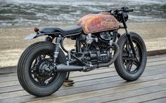 Honda CX500 'Rusty' by Robinson's Speed Shop