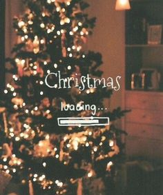 Christmas loading… ahhhh i want Christmas back and its just july
