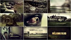 The Walking Dead (Season 3). Main Title Design by: yU+co.