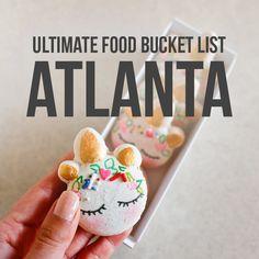The Ultimate Atlanta Food Bucket List - 49 Best Places to Eat in Atlanta Georgia // Local Adventurer Atlanta Eats, Atlanta Food, Atlanta Restaurants, Atlanta Georgia, Atlanta Buckhead, Visit Atlanta, Savannah Georgia, Stranger Things Filming Locations, Atlanta Travel