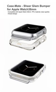 Sheer Glam Bumper for Apple Watch (38mm) | Case-Mate