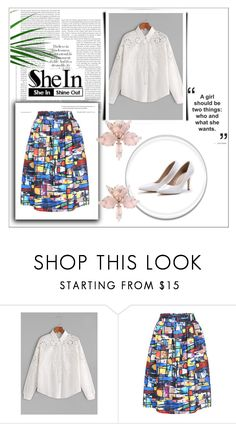 """""""SheIn 8/XV"""" by nermina-okanovic ❤ liked on Polyvore featuring shein"""