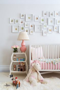 Get inspired by Eclectic Nursery Design photo by Chango & Co. Wayfair lets you find the designer products in the photo and get ideas from thousands of other Eclectic Nursery Design photos. White Nursery, Nursery Neutral, Girl Nursery, Girls Bedroom, Nursery Crib, Nursery Modern, Design Blog, Deco Design, Design Trends