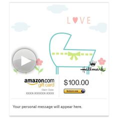 Amazon eGift Card - New Little Someone to Love (Animated) [Hallmark] - http://our-shopping-store.com/gift-cards-products.asp