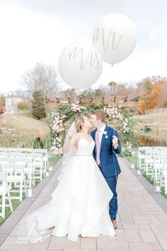 "From the editorial ""This Couple Incorporated Subtle Nods to Disney Throughout Their Wedding and the Results Were Magical."" As avid lovers of Disney World, this bride and groom included a few nods to Disney throughout their wedding day. We're sharing all the details on SMP!  LBB Photography: @susanelizabethweddings  #disneywedding #disneyweddinginspiration #disneyballoons #weddingballoons #brideandgroom"