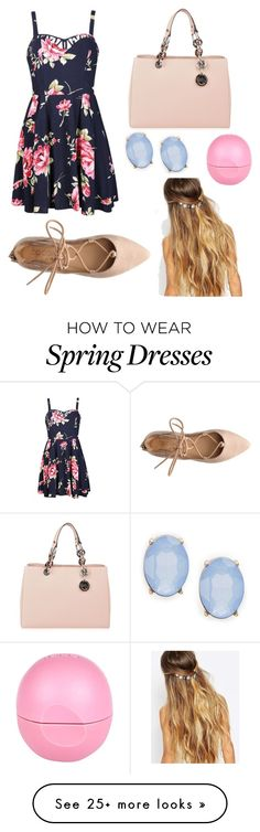 """dressy spring"" by hadleyxclaire on Polyvore featuring Ally Fashion, Cara, MICHAEL Michael Kors, Johnny Loves Rosie, River Island, women's clothing, women, female, woman and misses"
