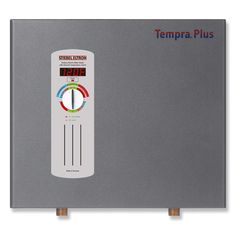 Stiebel Eltron Tempra 24 Plus kW GPM Whole House Tankless Electric Water Heater-Tempra 24 Plus - The Home Depot Tankless Hot Water Heater, Thing 1, Water Heating, Save Energy, Home Depot, Plumbing, Home Improvement, At Least, Technology