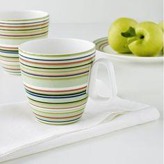The new go-to morning mug to enjoy for coffee, tea or hot chocolate on the porch. iittala Origo Green Mug - $26