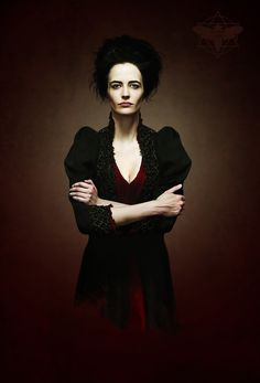 Vanessa Ives Played by Eva Green - Penny Dreadful Eva Green Penny Dreadful, Penny Dreadfull, Actress Eva Green, Black Magic Woman, Gothic Aesthetic, French Actress, Celebs, Celebrities, Sensual