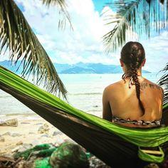 Fesselnd #hammock #hängematte #strand #beach #