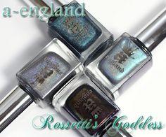 a-england Rossetti's Goddess collection review via @alllacqueredup