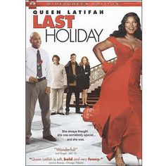 Directed by Wayne Wang. With Queen Latifah, LL Cool J, Timothy Hutton, Giancarlo Esposito. Upon learning of a terminal illness, a shy woman (Queen Latifah) decides to sell off all her possessions and live it up at a posh European hotel. Queen Latifah, Last Holiday Movie, Christmas Movies, All Movies, Great Movies, Movies Online, Awesome Movies, Funny Movies, Comedy Movies
