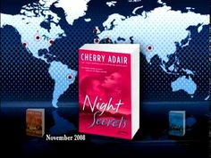 Always an adventurer in life as well as writing, New York Times best-selling author Cherry Adair moved halfway across the globe from Cape Town, South Afr. Night Trilogy, Night Secrets, Tv Ads, Cherry, Youtube, Fall, Videos, Autumn, Fall Season